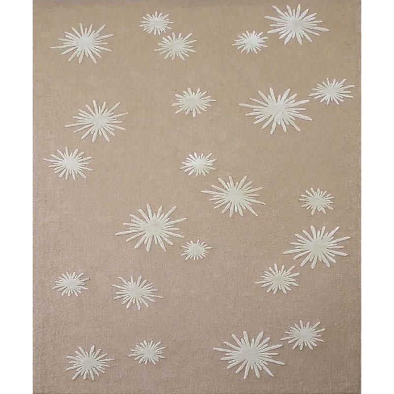 White Sun Rug de Damien Langlois-Meurinne