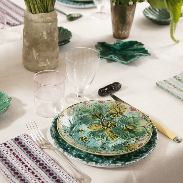 The Invisible Collection Barbotine Dinner Set For 12 Diner En Ville