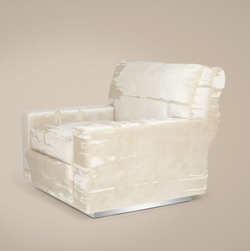 The Invisible Collection Soho Armchair Laura Gonzalez