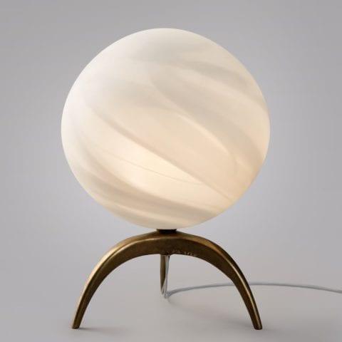 Table Lamp LEM Tripode White Planet
