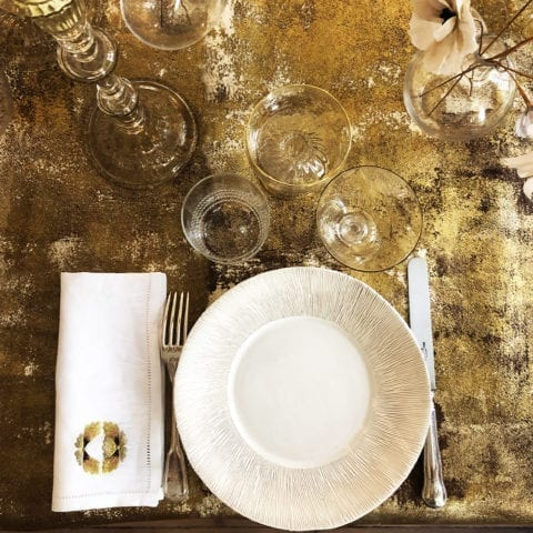 Glimpses of Giverny Dinner Set for 12