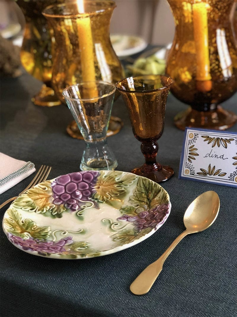 The Invisible Collection Provencal Dinner Set for 12 Diner en Ville