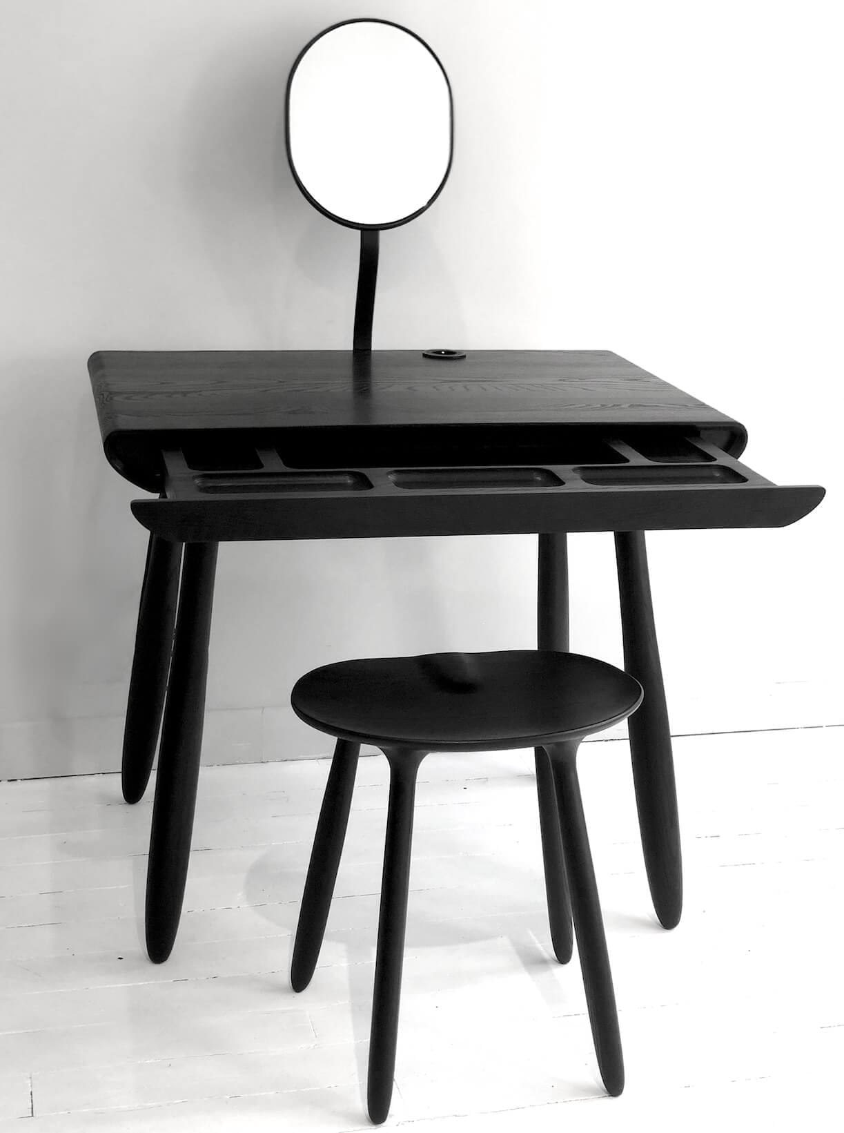 The Invisible Collection Daiku Stool Victoria Magniant