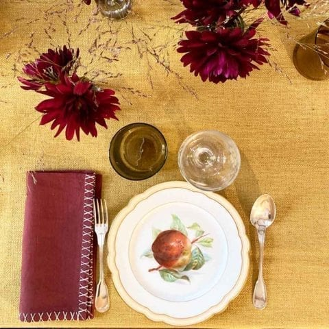 Autumn Treasures Dinner Set for 12