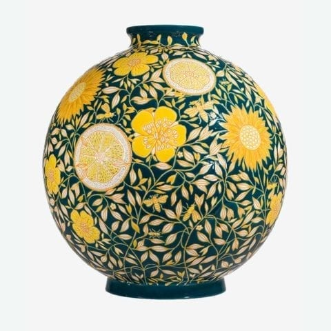 Coloniale Lemon Insect Ball Vase