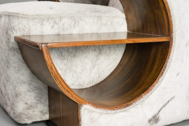 The Invisible Collection Pair of Art Deco Armchairs Norki