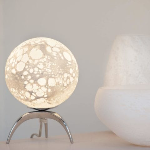 Table Lamp LEM Tripode Moon
