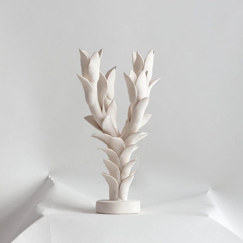 The Invisible Collection Four Branched Candleholder Jean Roger