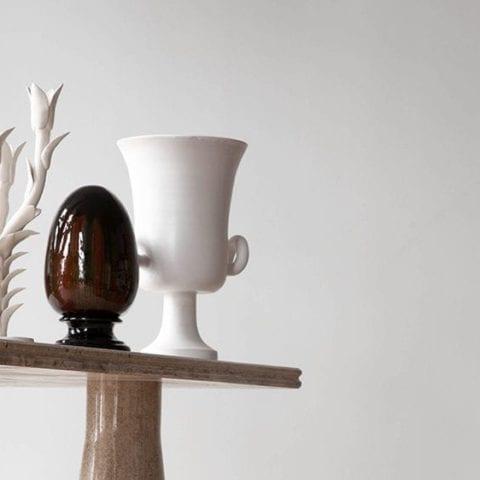 Oursin Vase par Jean Roger