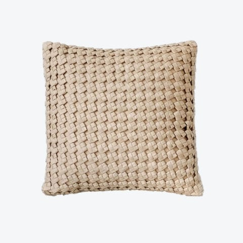 Square Knot Weave Cushion Cover
