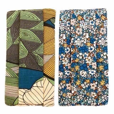 Set of Floral and Jungle Masks