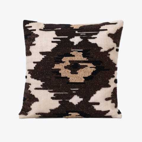 Linao Beaded Cushion Cover