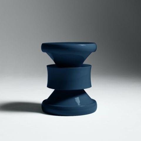 Tabouret Barth Les Intemporels Bleu Pétrole
