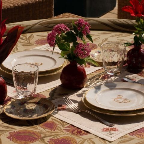 Tables Linens by Malaika