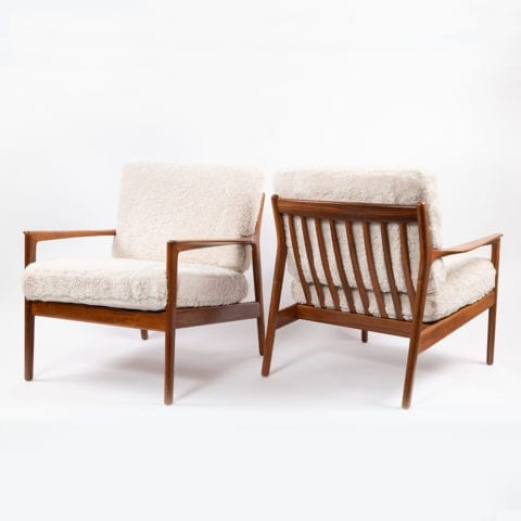 TheInvisibleCollection Norki Pair Armchairs Folke Ohlsson