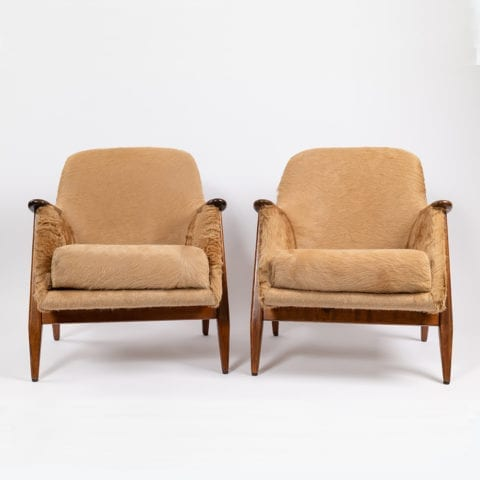TheInvisibleCollection Norki Pair Armchairs Svante Skogh