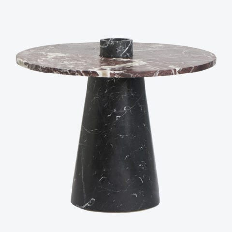 Inside Out Nero Marquina Table