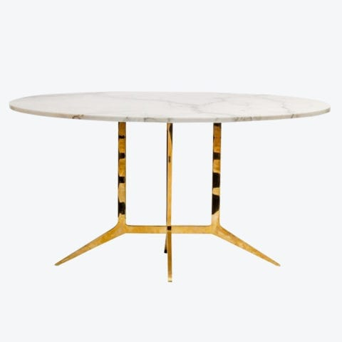 Spandar Oval Table
