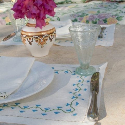 Giza Flower Tablecloth / Placemat