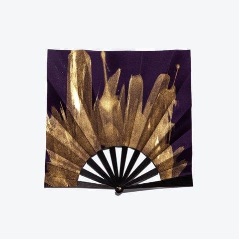 Éventail Gold Carré Violet