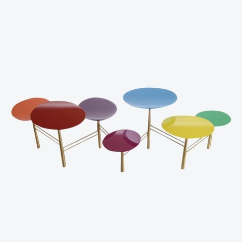 Table Basse Pebble Smarties