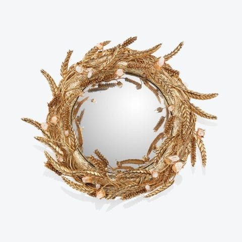 The Invisible Collection -Wheat Heritage Mirror by Goossens Paris
